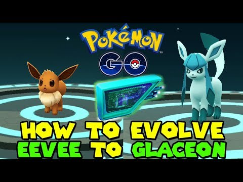 HOW TO GET GLACEON IN POKEMON GO - EEVEE TO GLACEON EVOLUTION - GLACIAL LURE