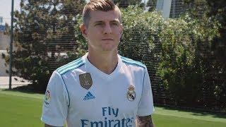 Toni Kroos - Real Madrid  Kit Reveal - 2017/2018 (Adidas Commercial)