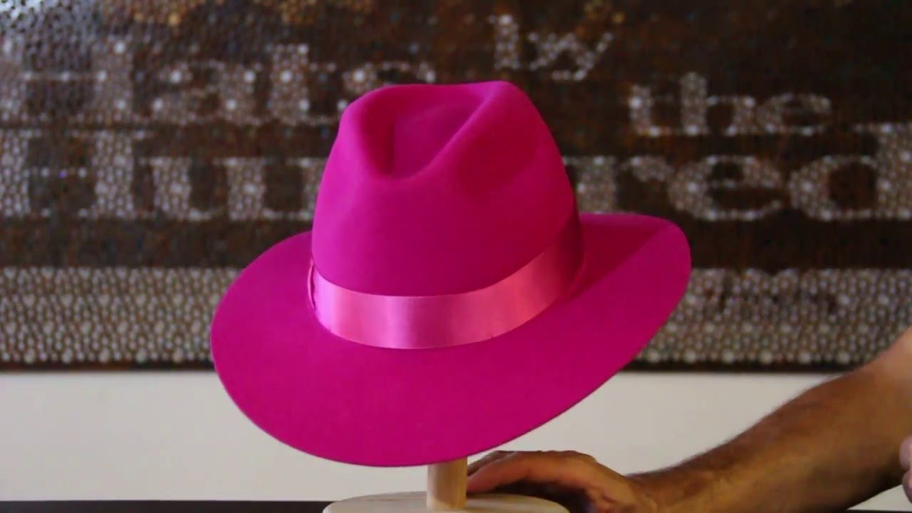 Akubra Bianca Magenta Hat - Hats By The Hundred Review - YouTube 212b6428aedb