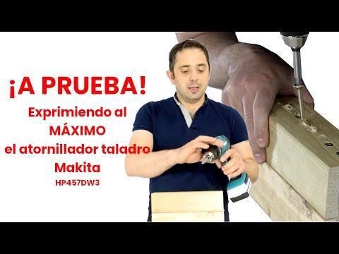 A PRUEBA atornillador-taladro Makita HP457DWE3