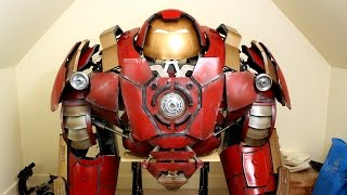 XRobots - Iron Man Hulkbuster Cosplay Part 38, Helmet & Shoulder Panels