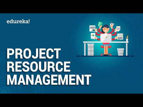 Project Resource Management | Project Management | PMP Certification | Edureka