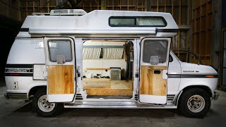 Camper Van Remodel pt. 1 - Tear Down