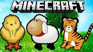 Обзор модов Minecraft # 47! Детёныши (Baby Animals Mod)