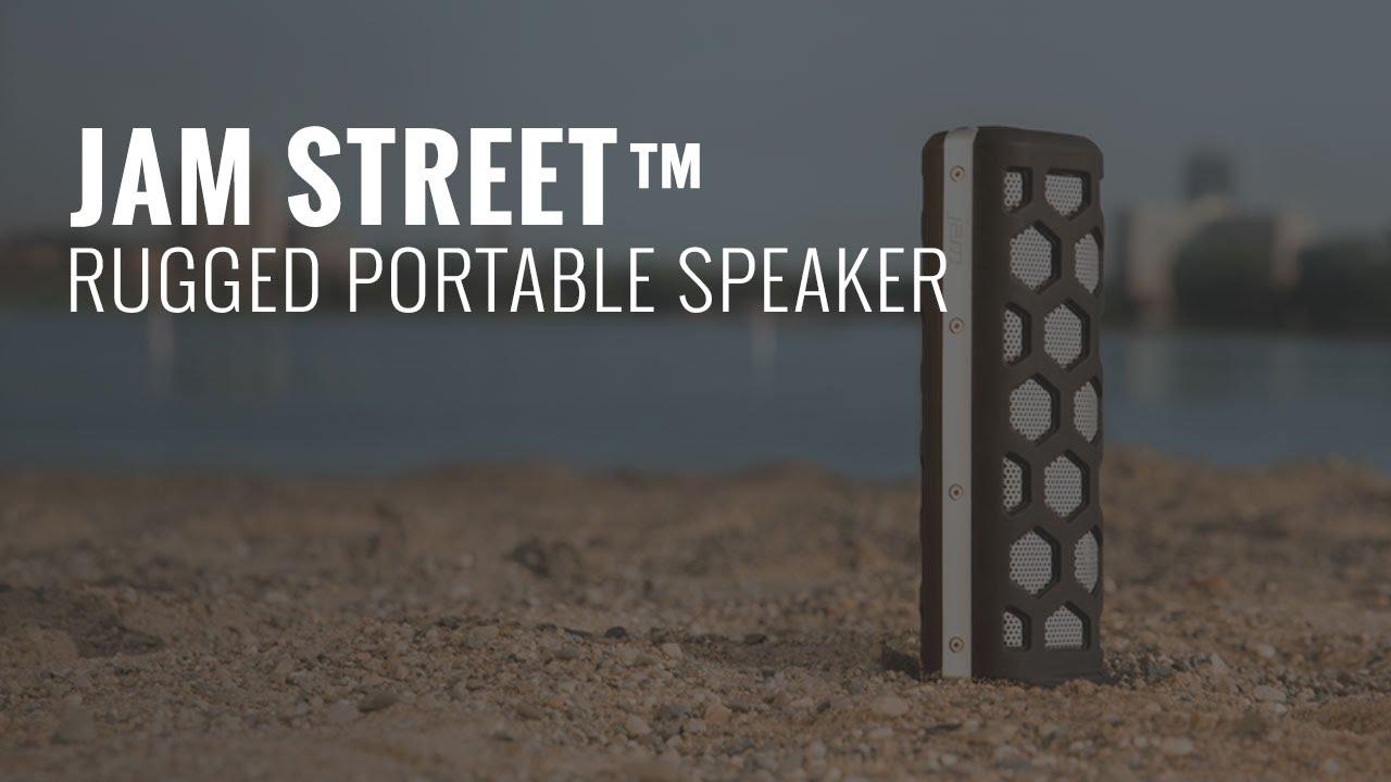 Jam Street Rugged Portable Speaker Youtube