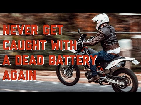 Bluetooth Battery Tracker Review & Test Ride / Never get left with a dead battery again!