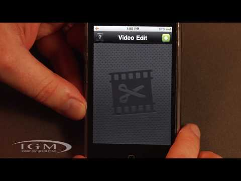 Video Edit App for iPhone Stitches Together Clips on the Go (Review)