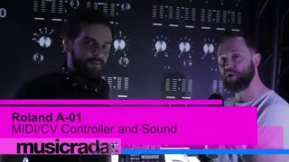 NAMM 2016: Roland A-O1 step sequencer, MIDI controller and tone generator