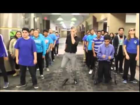 Dallas ISD Viral Video - A. Maceo Smith New Tech High School - Uptown Funk Dance