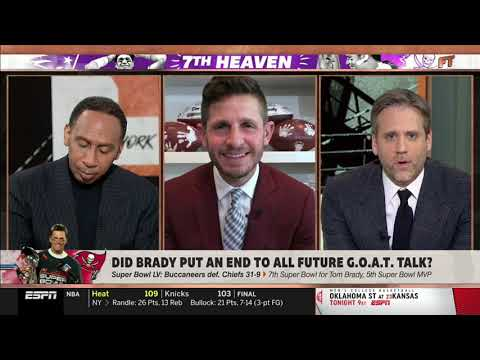 "First Take | Max Shocked ""Brady Has Won 3 Super Bowls Since I Made Cliff Prediction"" 