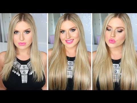 How To Clip In Hair Extensions! ♡ Zala Hair Extensions Review