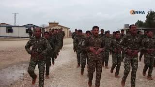 أكاديمية شهيد خبات تخرج دورة لـ 120 مقاتل من أبناء دير الزور