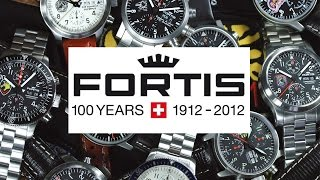 Fortis Private Label Squadron Watches