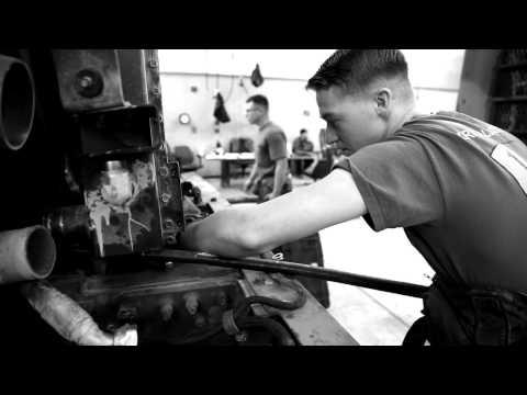Life as a mechanic: CLR-1 Marine keeps trucks running