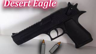 Desert Eagle CO2 Airsoft Gun in Action