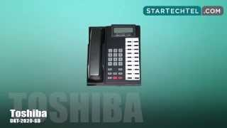How To Use The Call Park Feature On The Toshiba DKT-2020-SD Phone