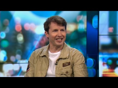 "James Blunt LIVE ""No Prizes For Coming Second"" Australian Tv Interview April 21, 2017"