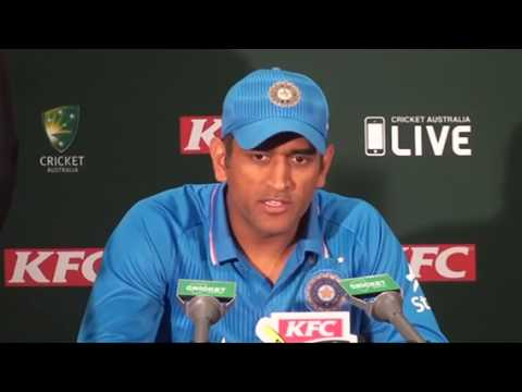 Virat Kohli and MS Dhoni in funny interview