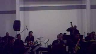 Andres Briceño Simon Bolivar Jazz Big Band.