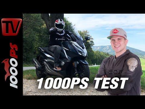 Honda Forza 300 Test - Leben mit dem Forza 300