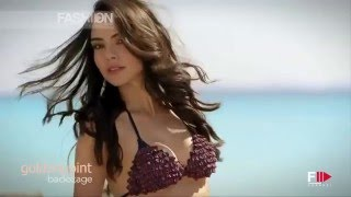 Federica Nargi Golden Point Backstage Photoshoot 2013 Collection by Fashion Channel