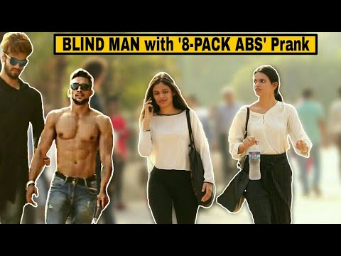 BLIND MAN with '8-Pack ABS' Prank | Pranks in India 2019 | Indian prank