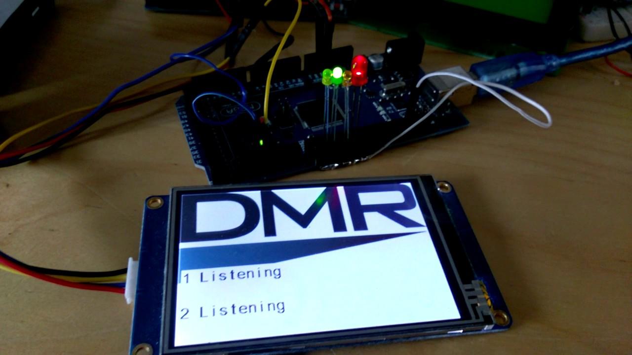 LCD SCREEN TJC 2.4/'/' + USB to TTL Adapter MMDVM Repeater hotspot board