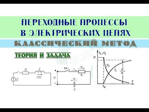 Переходные процессы | Классический метод расчета переходных процессов. Теория и задача