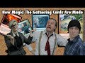 How Magic The Gathering Cards Are Made