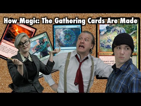 How Magic The Gathering Cards Are Made (Rivals of Ixalan Preview/Spoiler)