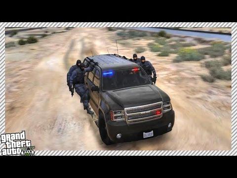GTA 5 LSPDFR S.W.A.T Patrol - Epic SWAT Squad, Bank Robbery & Franklin's Drug House SWAT RAID!