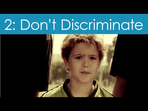 Human Rights Video #2: Don't Discriminate