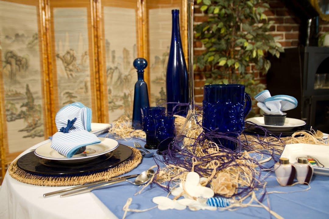 Decoracion de mesa para comida especial intima o - Decoracion para mesas de centro ...