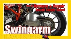 How to Remove a Ducati Swingarm