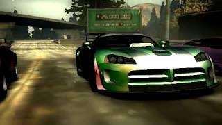 Blacklist 1 race #8 (Speedtrap) NFS Most Wanted