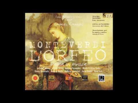 """Claudio Monteverdi: """"L'Orfeo"""" - Gabriel Garrido (Opera completa)"""