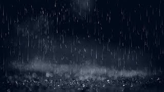 Gentle Night Rain 12 HOURS - Sleep, Insomnia, Meditation, Relaxing, Study