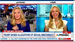AJ Delgado with Alex Witt/MSNBC on Oct 16