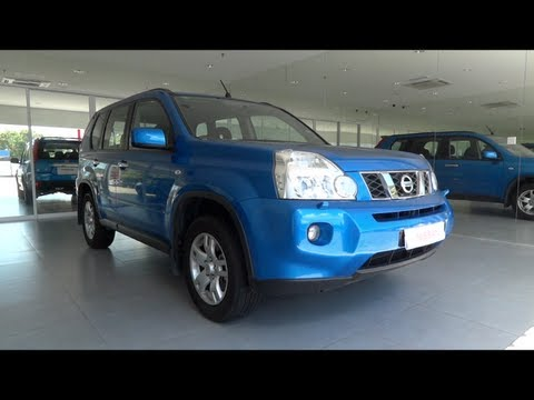 2011 Nissan X-Trail Start-Up and Full Vehicle Tour