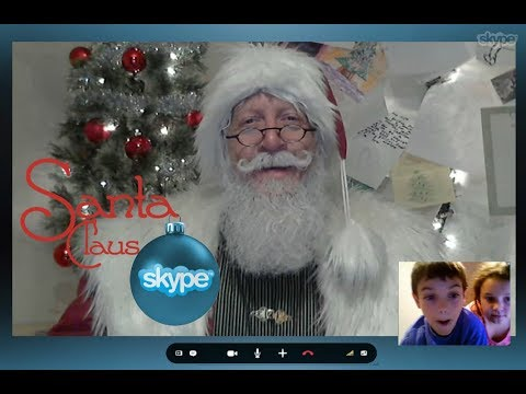 Here's what happens when your child has a live video call with Santa! from YouTube · Duration:  31 seconds