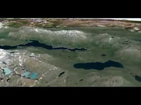 Google Earth Oslo Kirkenes Timelapse