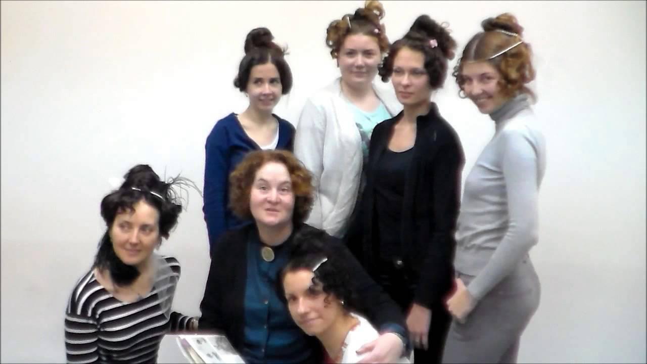 Причёски 19 века как сделать фото 394