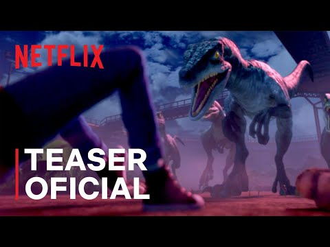 Jurassic World: Acampamento Jurássico   Teaser oficial   Netflix