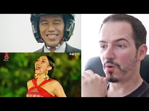 CUPLIKAN KEMERIAHAN ASIAN GAMES 2018 OPENING CEREMONY - REACTION + REVIEW