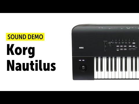 Korg Nautilus Sound Demo (no talking)