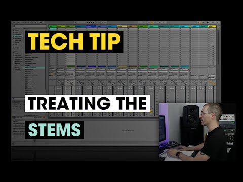 Tech Tip – Treating Stems - Audio Tutorial Videos