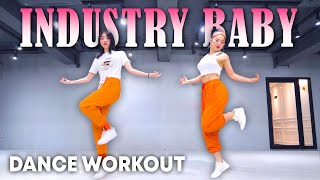 [Dance Workout] Lil Nas X, Jack Harlow - INDUSTRY BABY | MYLEE Cardio Dance Workout, Dance Fitness