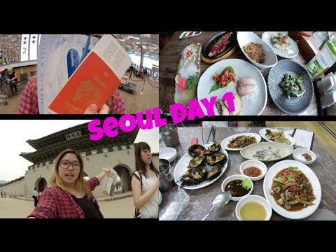 Korea Seoul trip day 1 Insadong, Gyeongbukgung & Noryangjin