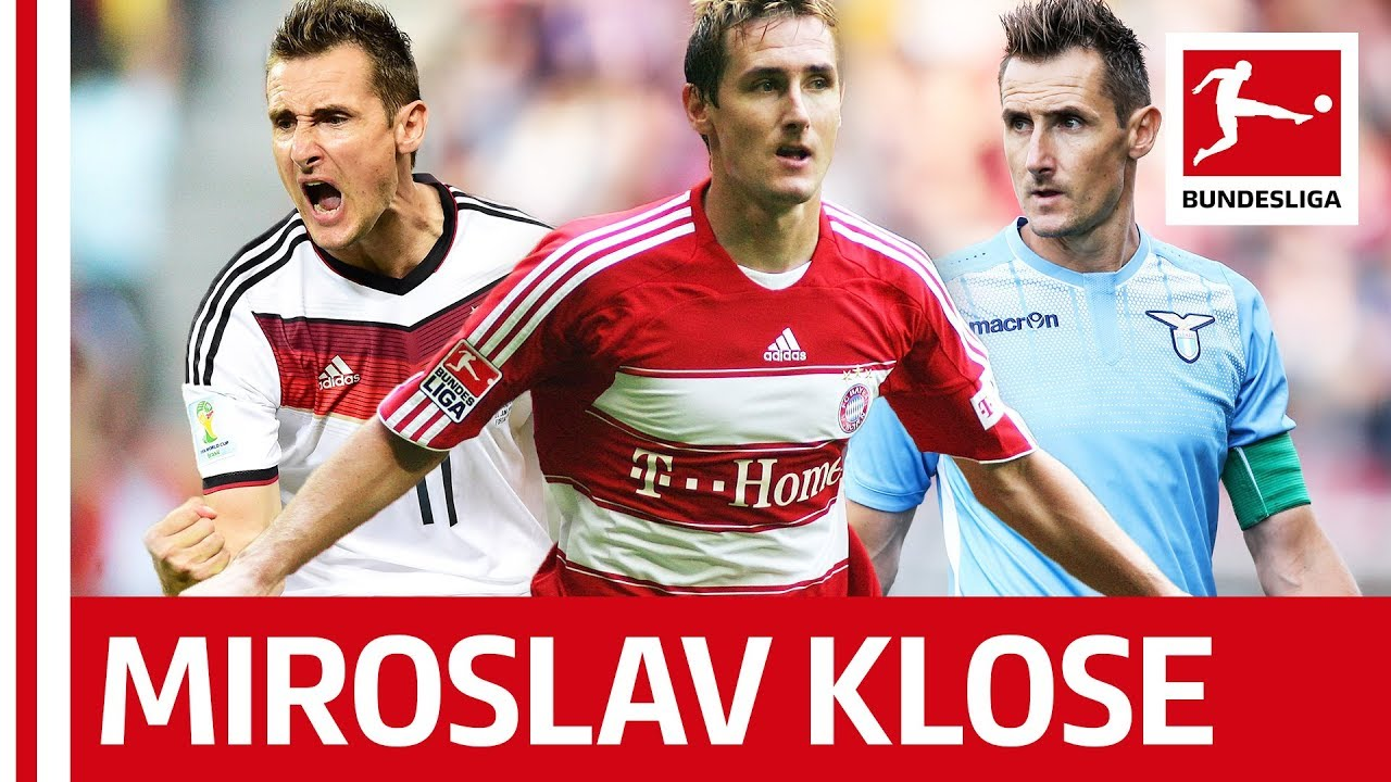 Miroslav Klose - Bundesliga's Greatest - FIFA World Cup All-Time Record Goalscorer