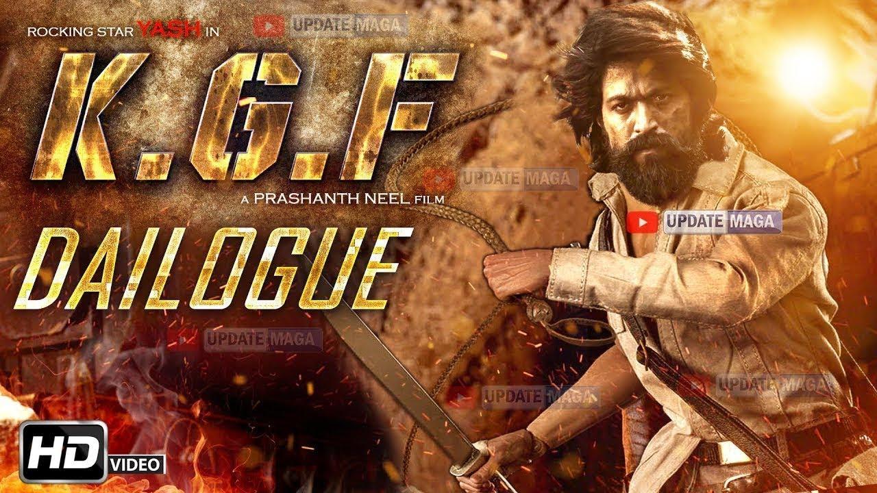Yash Kgf Dialogue Rocking Star Yash Kgf Movie Dialogue